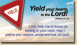 Signs of Faith - Magnet YIELD